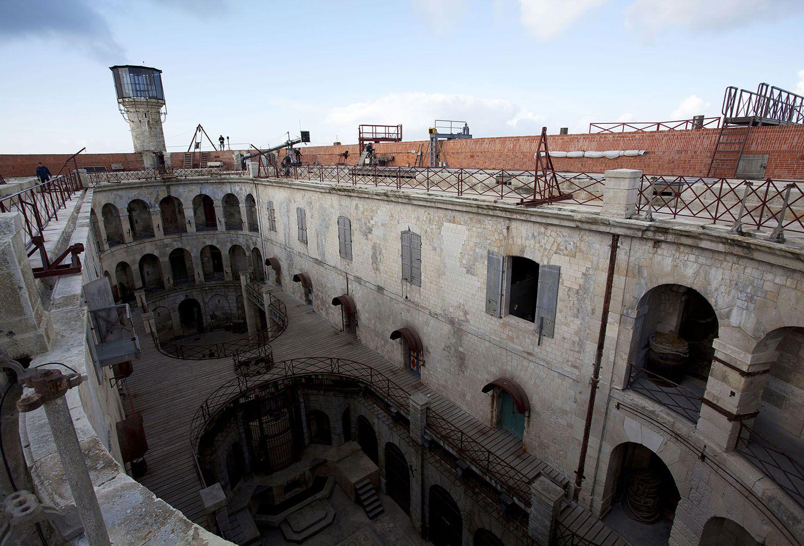 Fort Boyard, l\'île d\'Aix,visite,Les Croisières Fourasines à Port des ...